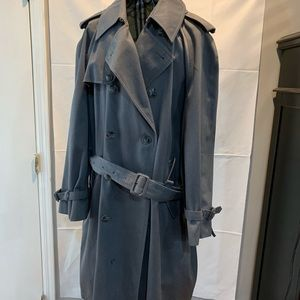 Vintage 1970's men's trench coat